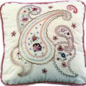 Brazilian Embroidery Pattern: Paisley Design